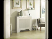 White Painted Radiator Cover (good condition)