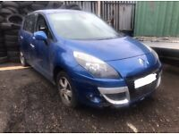 RENAULT SCENIC, 2.0 PETROL, 2010, BREAKING FOR SPARES