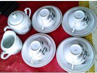 Chinese/Japanese China Tea Set
