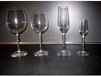 Spiegelau Arabeske Crystal Glasses - set of 48