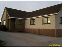 Large two bedroomed bungalow in tranquil country setting.