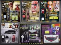 Zipper FX Kit Halloween Blood Gore Zombie Make Up Halloween Horror Wounds