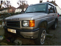 Landrover discovery Series II TD5 X reg - For Spares or possibly repair