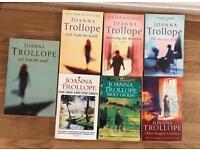 7 Joanna Trollope paperbacks