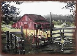 Old Barn Wall Clock  Makes Great Gifts