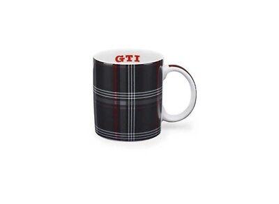 Original VW Volkswagen GTI Tasse Becher Kaffeebecher Clark Karo Design 5KA069601, gebraucht gebraucht kaufen  Nörten-Hardenberg