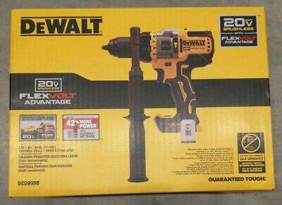 Dewalt Dcd999b 20v Max Bl Li-ion 12 In. Hammer Drill Driver Tool Only - New