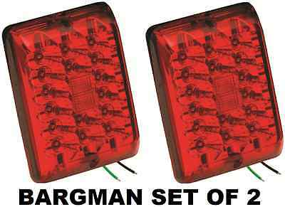 BARGMAN SET OF 2 (TWO) REPLACEMENT LED MODULE FOR #84 SERIES TRAILER RED LIGHT