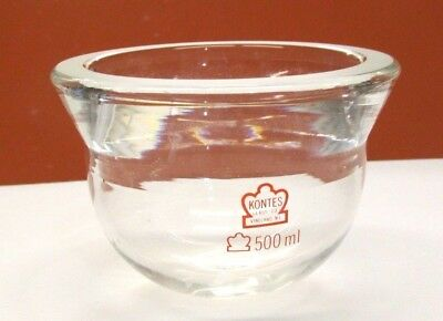 Kontes Cylendrcal Reaction Flask 500 Ml Lab Glass Science