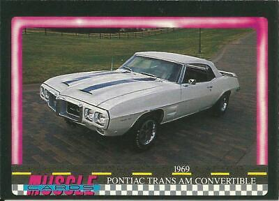 1969 Pontiac Trans Am Convertible card #51 - from 1991