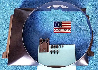 Fan Shroud Big Block 67-68 Camaro MADE in USA w/bracket bolts s-clips (Fan Shroud Bracket)