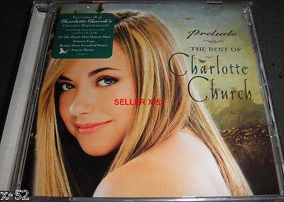 CHARLOTTE CHURCH prelude BEST OF CD Josh Groban Billy Gilman Ford Global