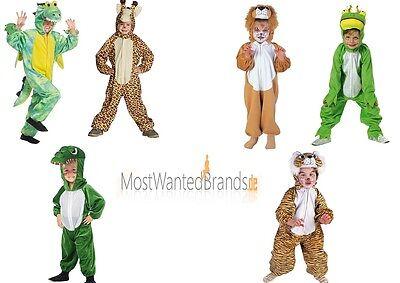 Mottoland Plüsch Kinder Kostüm, Overall, Löwe Tiger Drache Giraffe * 98-140