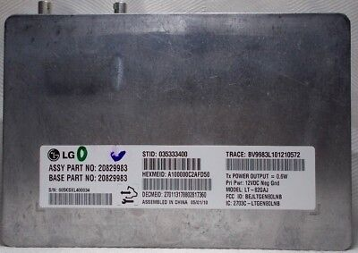 GM Mobile Telephone Transceiver Communication Interface Module 20829983 2010
