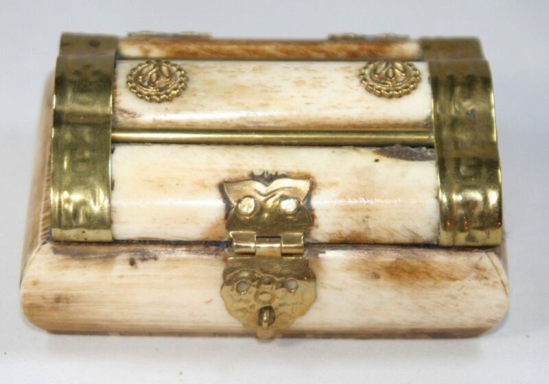 TRINKET & PIN BOX Turkish; Original ANTIQUE