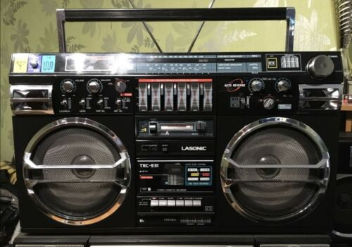 Vintage LASONIC TRC-931 Third Generation Model Radio Cassette Tape Player