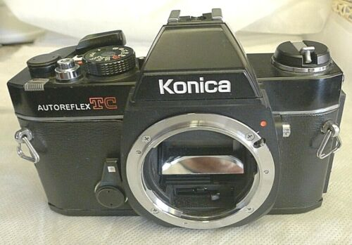 Konica Autoreflex TC 35mm Camera ~ BODY ONLY ~TESTED A20