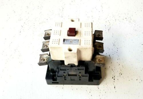 MAGNETIC CONTACTOR SC-3 FUJI ELECTRIC