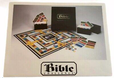 Board Game Trivia (1984 Bible Challenge Board Game Trivia Scripture ~ Complete Very)