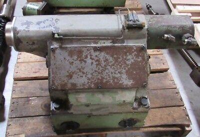 Okuma Cadet Tailstock Assy. Parts From Cnc Lathe Tail Stock