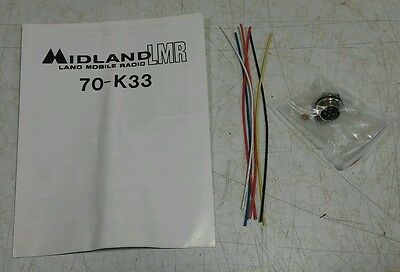 Midland 70-k33 6pin Microphone Connector Kit With Instructions
