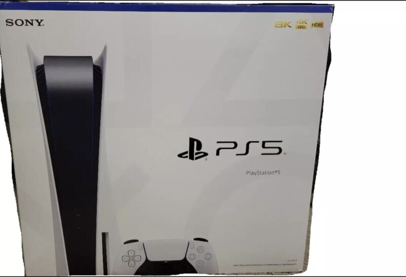 Sony PlayStation 5 PS5 EMPTY BOX NO CONSOLE replacement box