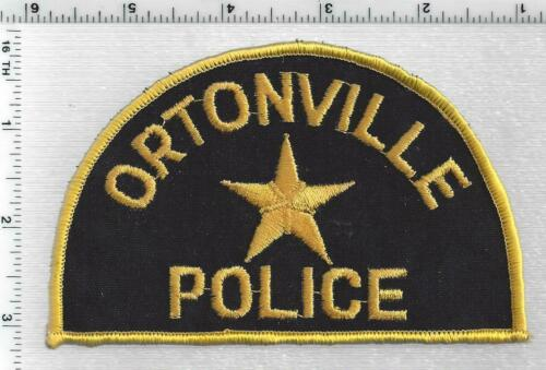 Ortonville Police (Minnesota) 2nd Issue Shoulder Patch