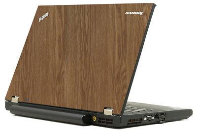 WOOD Vinyl Lid Skin Cover Decal fits IBM Lenovo ThinkPad T42