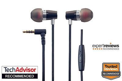 Rock Jaw Alfa Genus V2 Earphones with In-Line Mic & 3x Tuning Filters