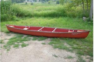 Coleman Ram X 17 Canoe + paddles
