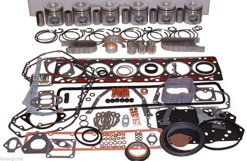 FITS Nissan TD42 Lift truck engine kit diesel forklift pistons liners gaskets