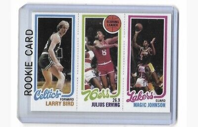 1980-1981 Topps #139 LARRY BIRD - MAGIC JOHNSON - Rookie RP