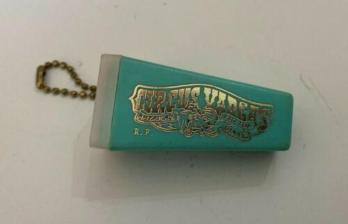 Vintage Circus Vargas Souvenir Picture Viewer Keychain