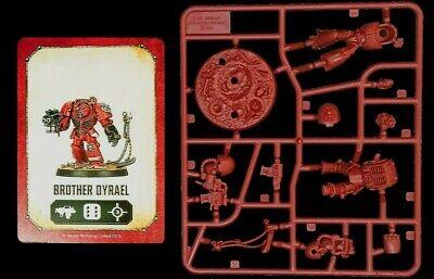 Space Marine Heroes Series 2 Brother Dyrael Warhammer 40K Blood Angel Terminator