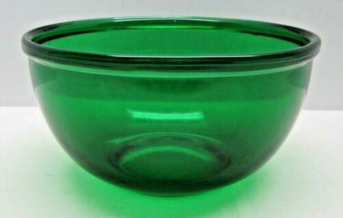 Vintage Emerald Green Depression Glass Berry/Dessert Bowl
