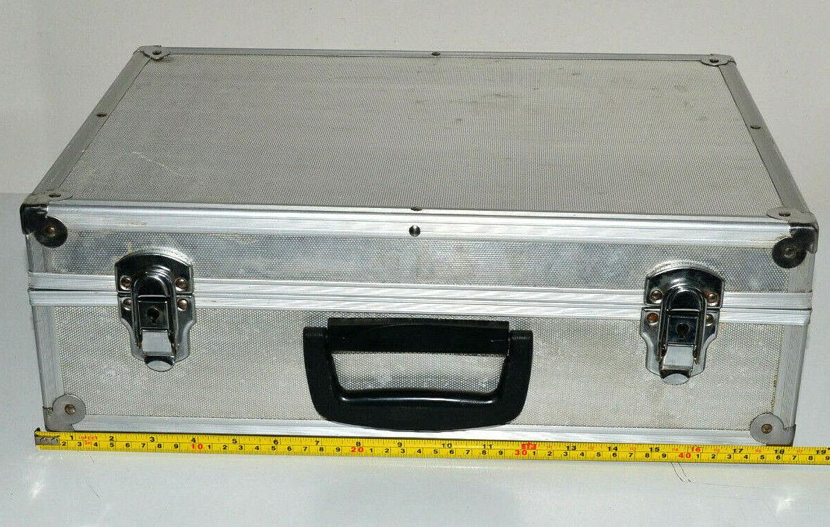 Valigia alluminio porta utensili  attrezzi da lavoro o fotografico  (Usato)