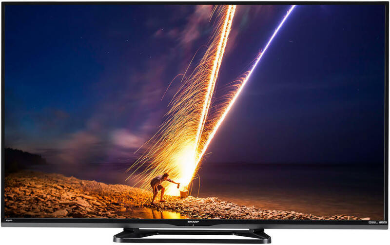 Sharp Aquos LC-55LE653U 55-inch 1080p Aquomotion 120 LED Smart HDTV