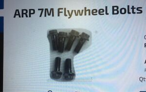 7M ARP flywheel bolts