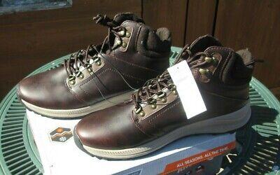 Mens Walking Hiking Boots Khombu Leather Waterproof Outdoor Boots UK 12 BNIB