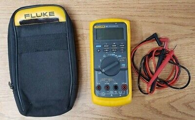 Fluke 787 Processmeter Digital Multimeter Fluke Leads And Case