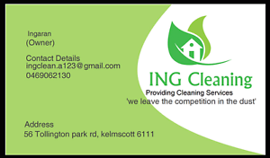 ING CLEANING Kelmscott Armadale Area Preview