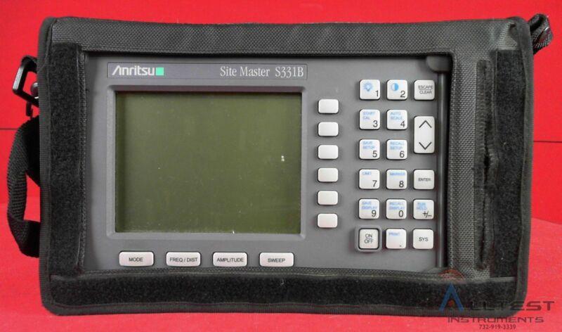 Anritsu S331B SiteMaster 25MHz to 3300MHz Cable & Antenna Analyzer