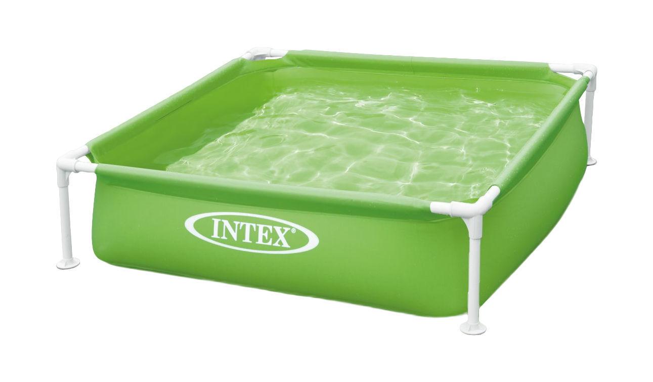 Intex 57172 Mini Frame Kinderpool 122x122x30cm Babypool Planschbecken Pool