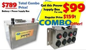 BWB Lithium Iron LiFePO4 12V 100AH   Combo Promo! Slacks Creek Logan Area Preview