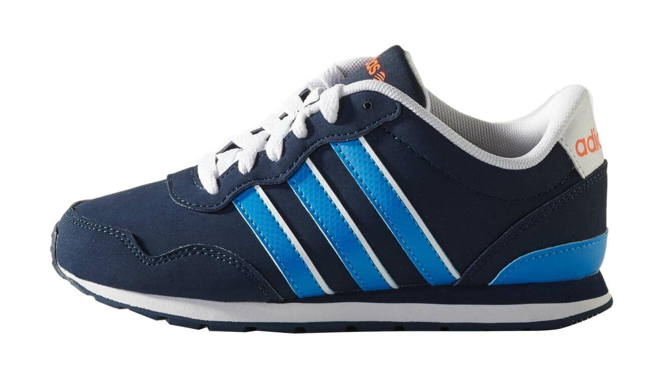 ADIDAS NEO Kinder Sneaker Schuhe Laufschuhe Sportschuhe V-Jog blau Gr.31 - 38
