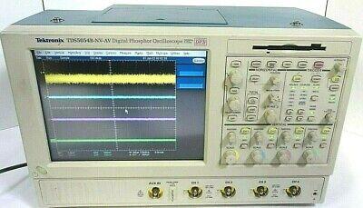 Tektronix Tds5054b-nv-av 500mhz 5gss Digital Phosphor Oscilloscope -free Shipp