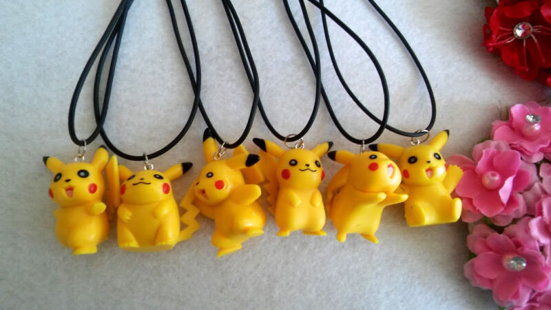 10 PICACHU - POKEMON PARTY FAVORS