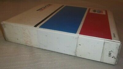 New Holland 7810s 6-cylinder Tractor Parts Book Manual 1994 58781010