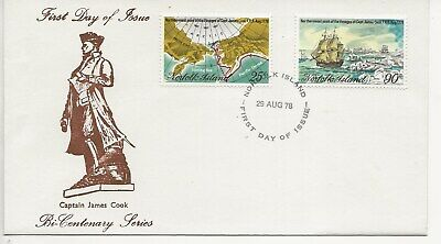 Norfolk Island Comm/FDC - Captain James Cook - 1978 (2030)Q