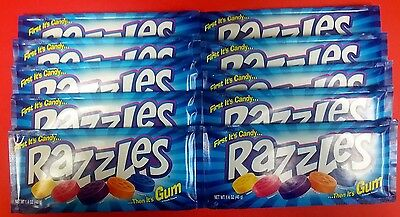 Razzles Original 10ct Candy Set FREE SHIPPING